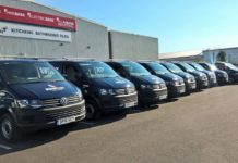 Volkswagen Transporter fleet for Mountjoy