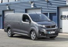 Peugeot longer wheelbase model CV Show 2017 (The Van Expert)