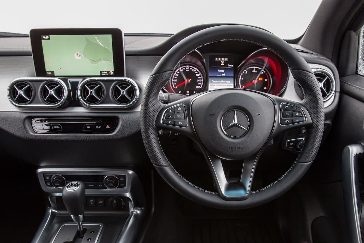 Mercedes-Benz X-Class interior (The Van Expert)