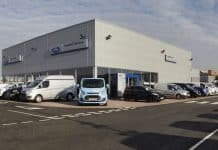 TrustFord site in Dagenham