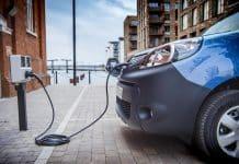 electric van charging