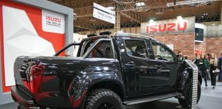 Isuzu D-MAX Arctic Stealth The Van Expert