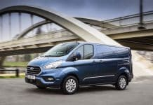 2018 Ford Transit Custom Limited front