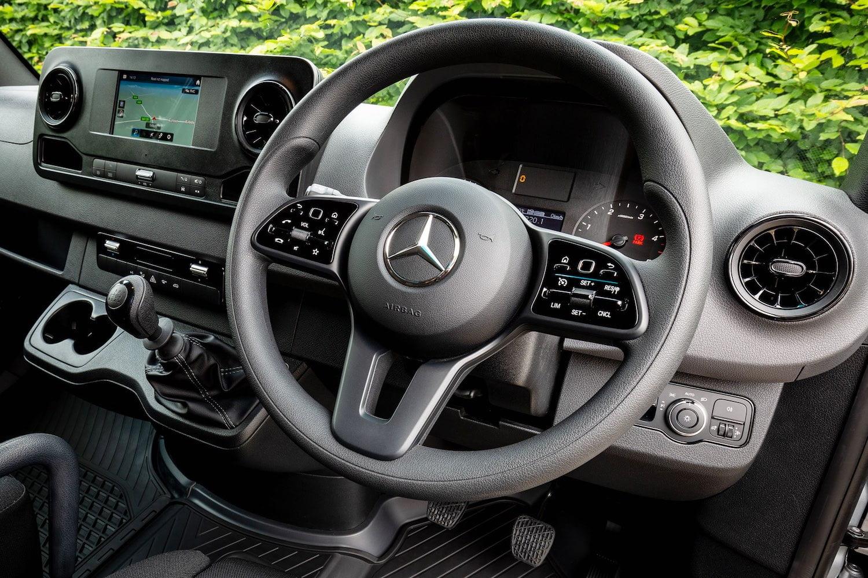 Mercedes-Benz Sprinter dashboard | The Van Expert