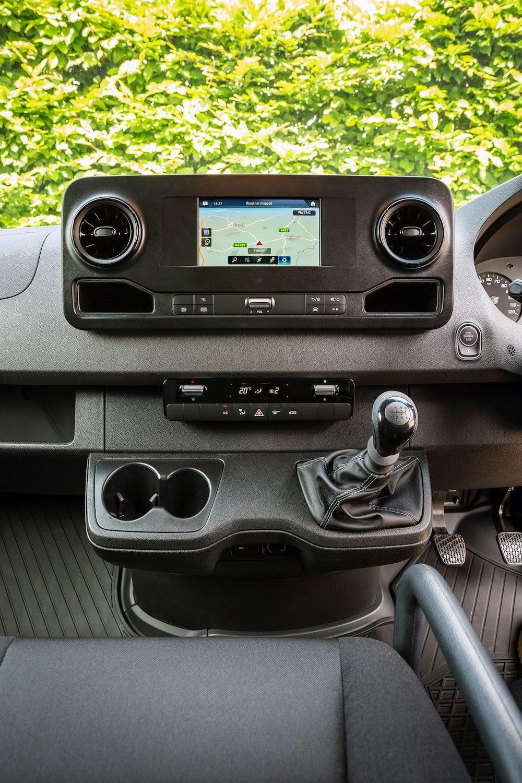 Mercedes-Benz Sprinter dashboard 2 | The Van Expert