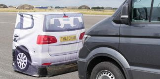 Thatcham calls for AEB to be made standard on all new vans