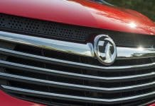 Vauxhall Vivaro griffin grille badge