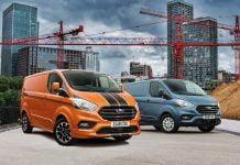 Ford Transit Custom leads LCV registrations again, September 2018