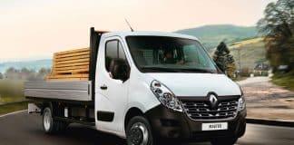 Renault Master aluminium tipper The Van Expert