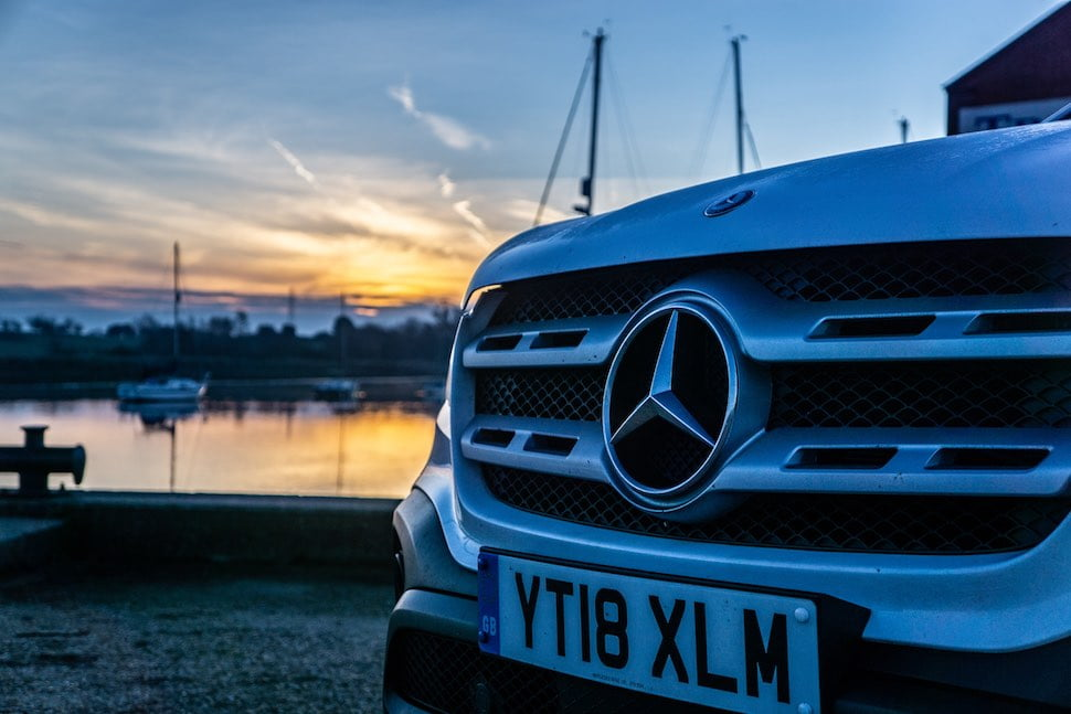 Mercedes-Benz X-Class grille