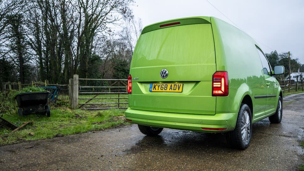 Volkswagen Caddy rear tailgate
