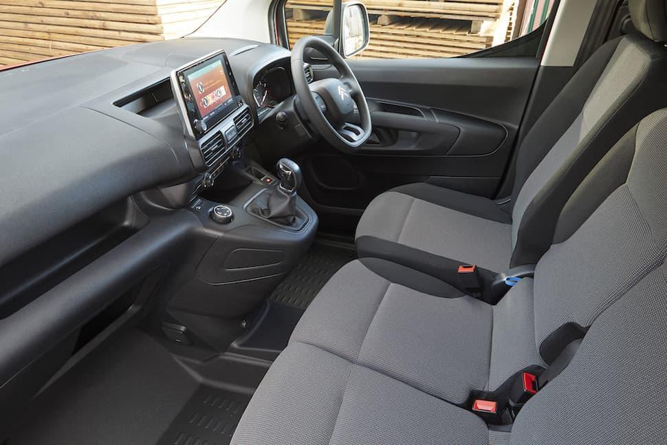 Citroën Berlingo review - interior 1 | The Van Expert