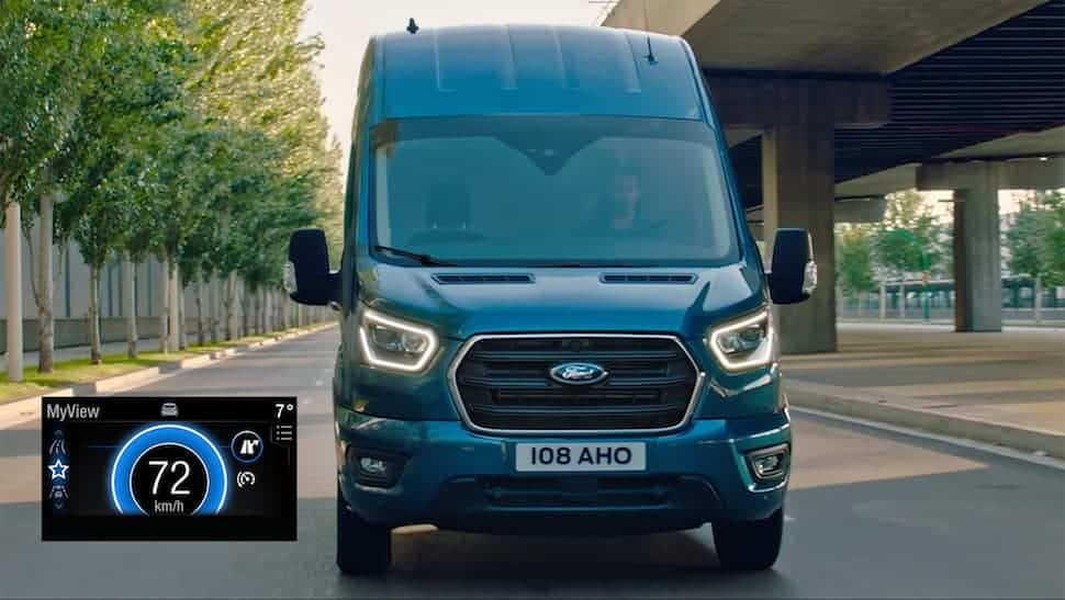 Ford Transit with new Ford EcoGuide navigation technology   The Van Expert