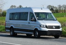 Wheelchair-friendly Volkswagen Crafter minibus
