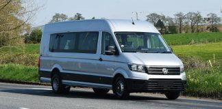 Wheelchair-friendly Volkswagen Crafter minibus
