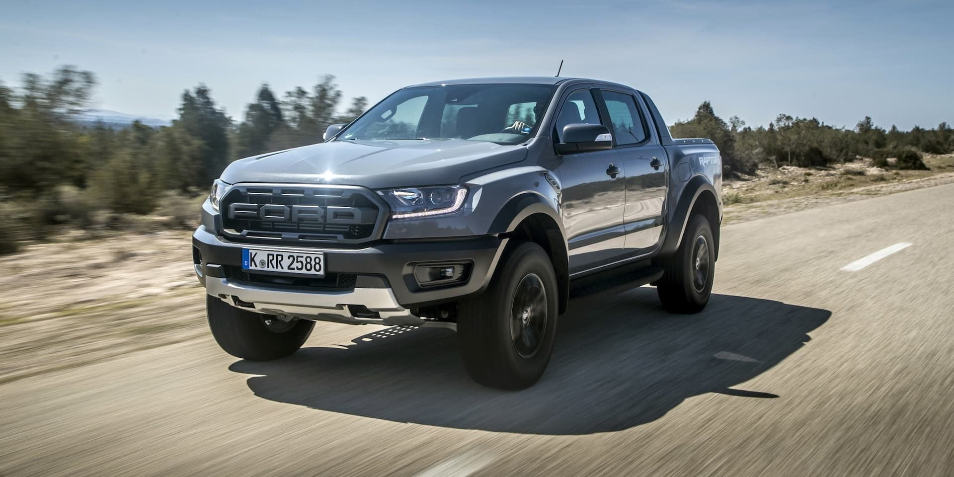 Ford Ranger Raptor test drive 2019 | The Van Expert
