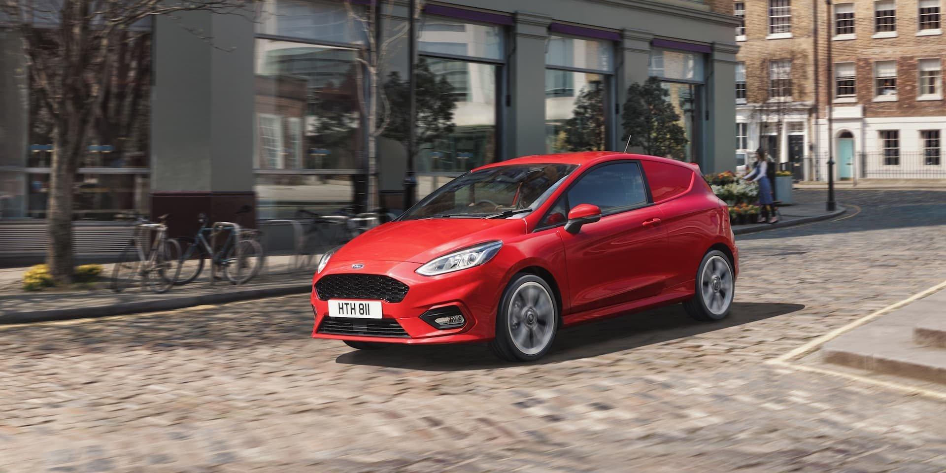 Ford Fiesta Sport Van test drive 2019 | The Van Expert