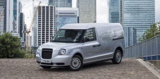 LEVC plug-in hybrid van | The Van Expert