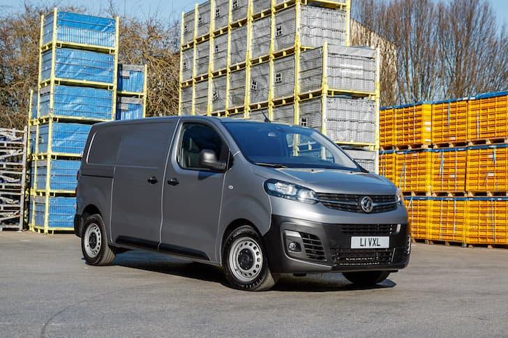 2020 Vauxhall Vivaro review - front | The Van Expert