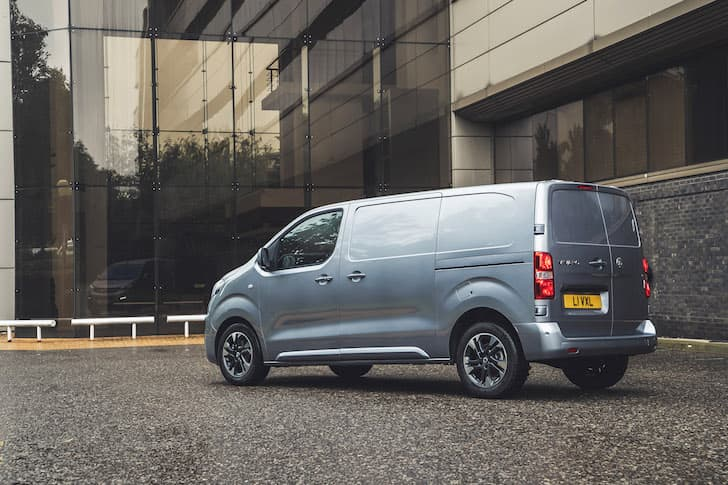 2020 Vauxhall Vivaro review - rear | The Van Expert