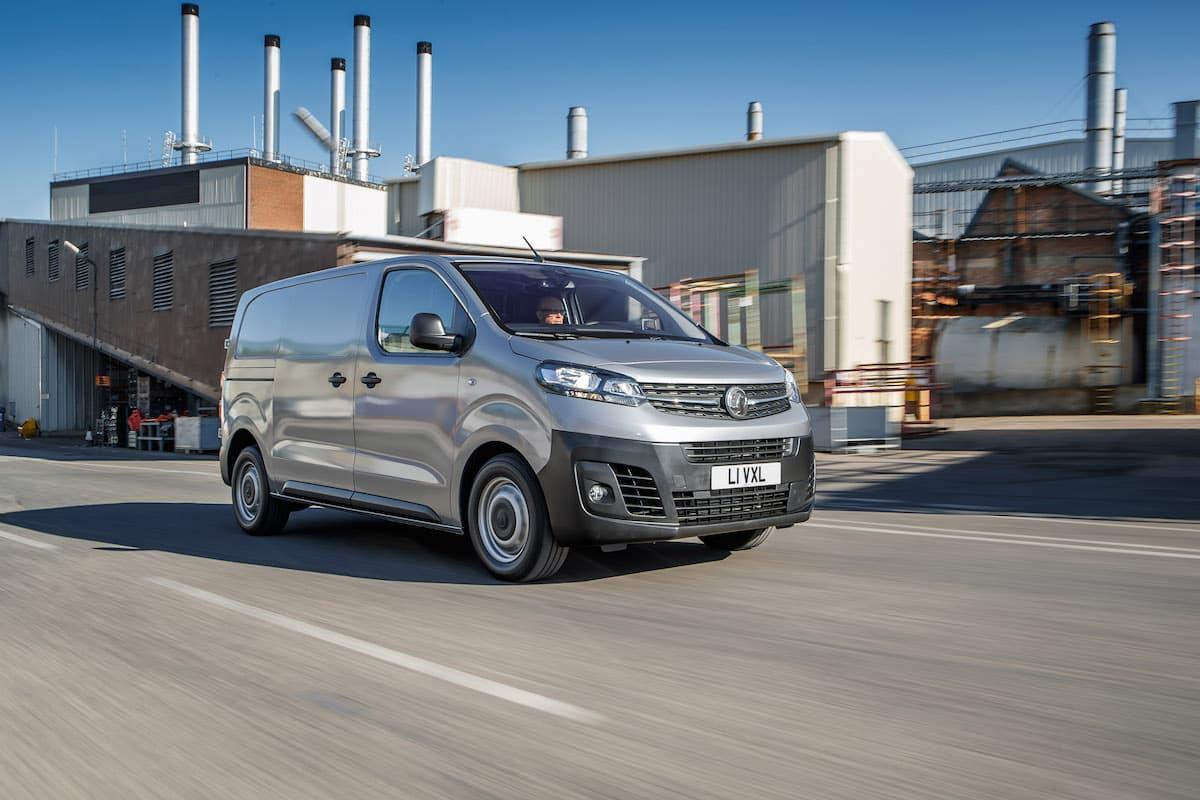 2020 Vauxhall Vivaro road test - front | The Van Expert