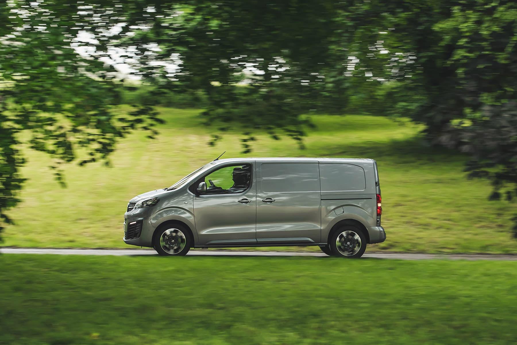 2020 Vauxhall Vivaro road test - side profile | The Van Expert