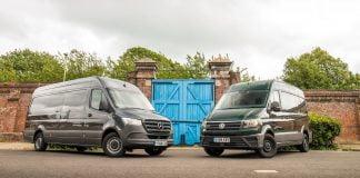 Twin test: Mercedes-Benz Sprinter vs. Volkswagen Crafter