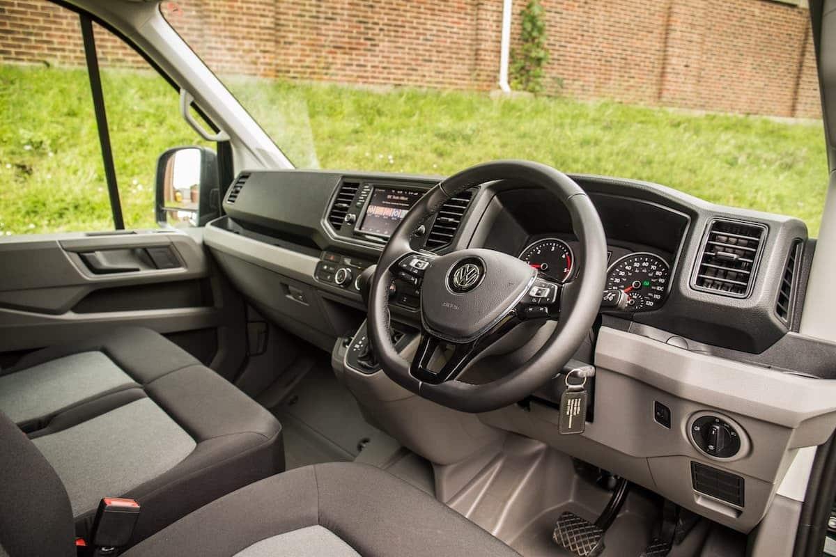 Volkswagen Crafter interior and dashboard | The Van Expert