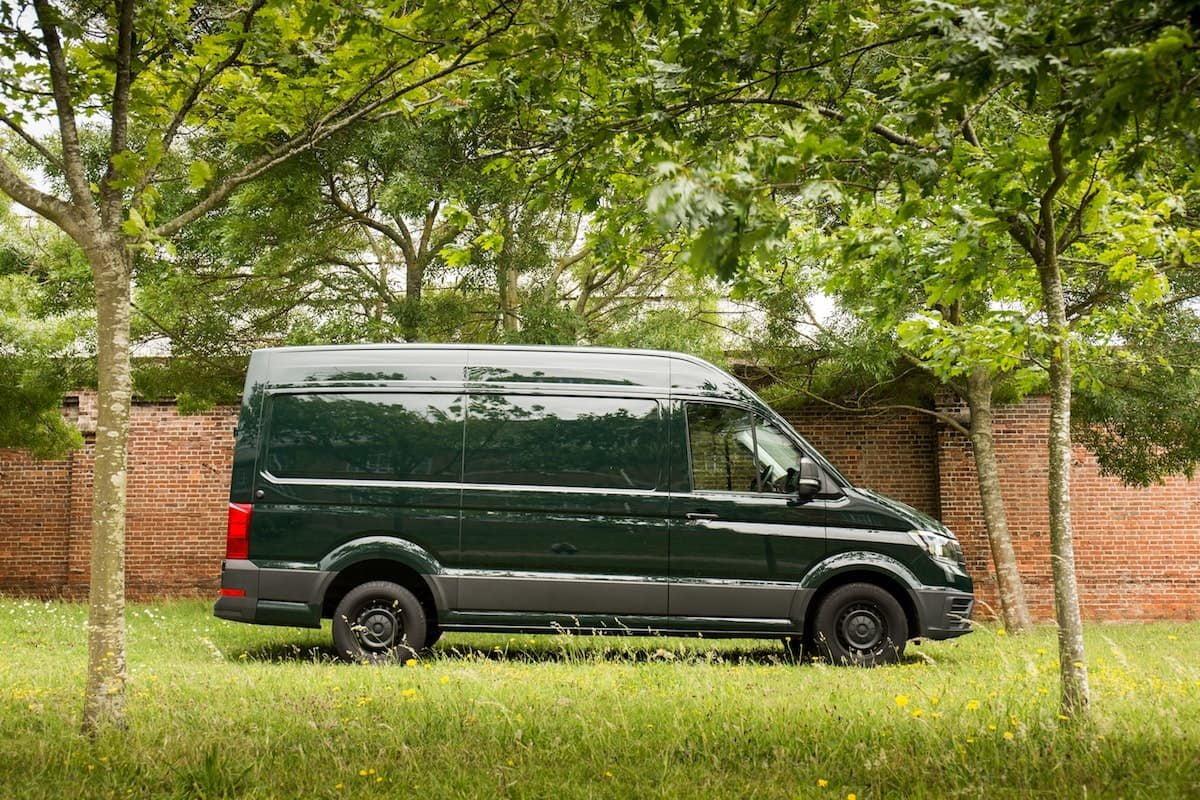 Volkswagen Crafter - side profile | The Van Expert