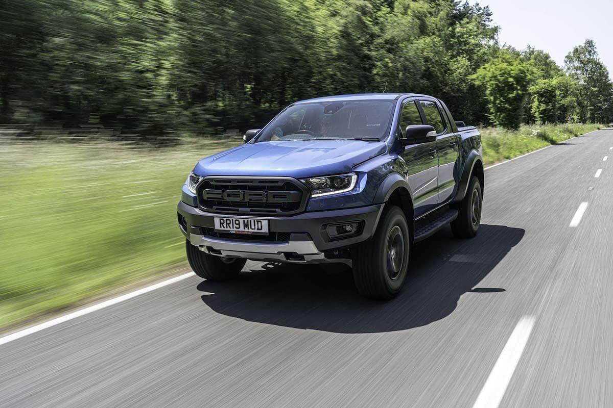 Ford Ranger Raptor road test 2019 - front view | The Van Expert