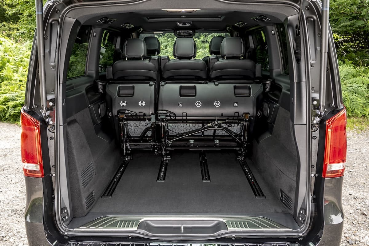 Mercedes-Benz V-Class review - load space | The Van Expert