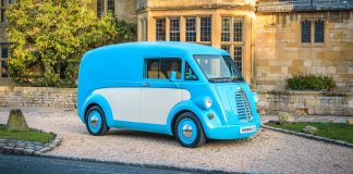 Morris JE electric delivery van | The Van Expert