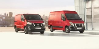 Updated Nissan NV300 and NV400 vans | The Van Expert