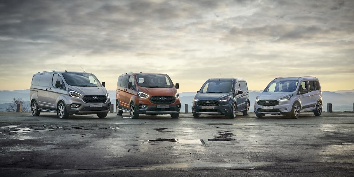 2020 Ford Transit Custom Active, Tourneo Custom Active and Transit Connect Active