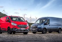 2020 Ford Transit Trail and Transit Custom Trail
