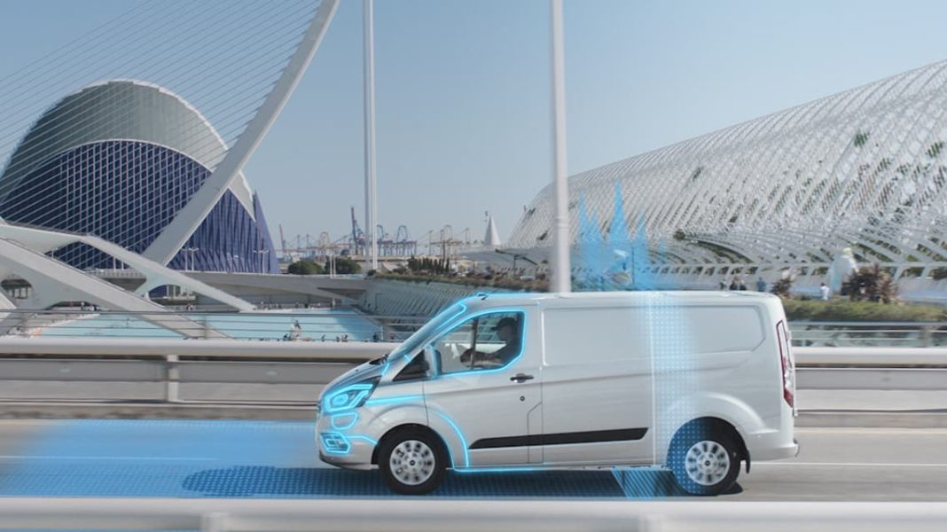 Ford Transit Custom PHEV with geofencing technology | The Van Expert