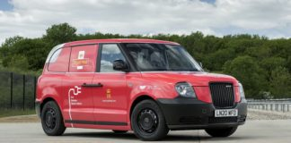 LEVC electric van prototype for Royal Mail
