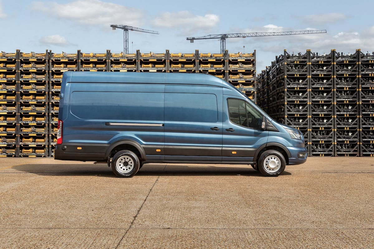 Five-tonne Transit panel van