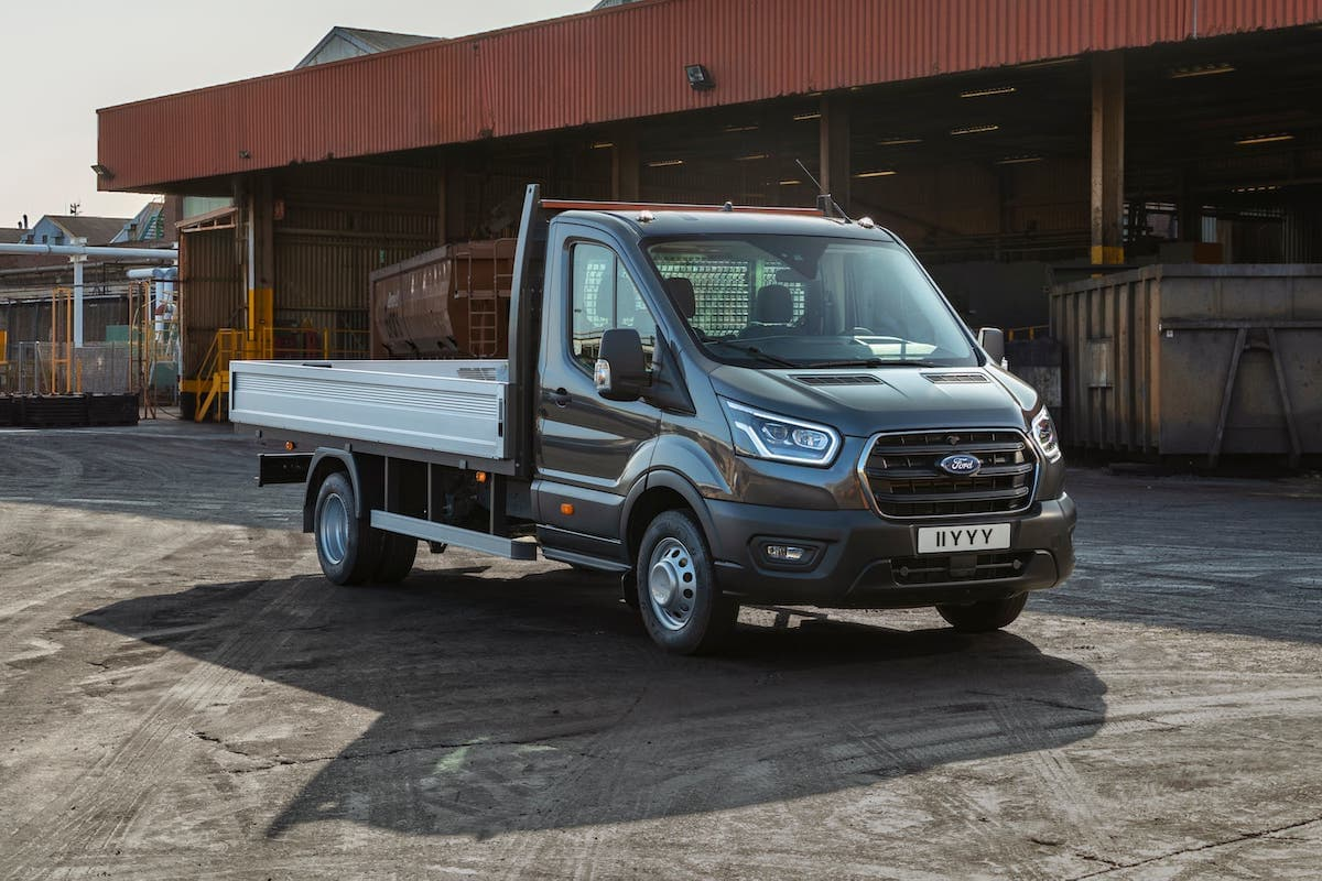 Five-tonne Transit dropside