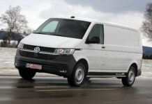 Volkswagen Transporter electric