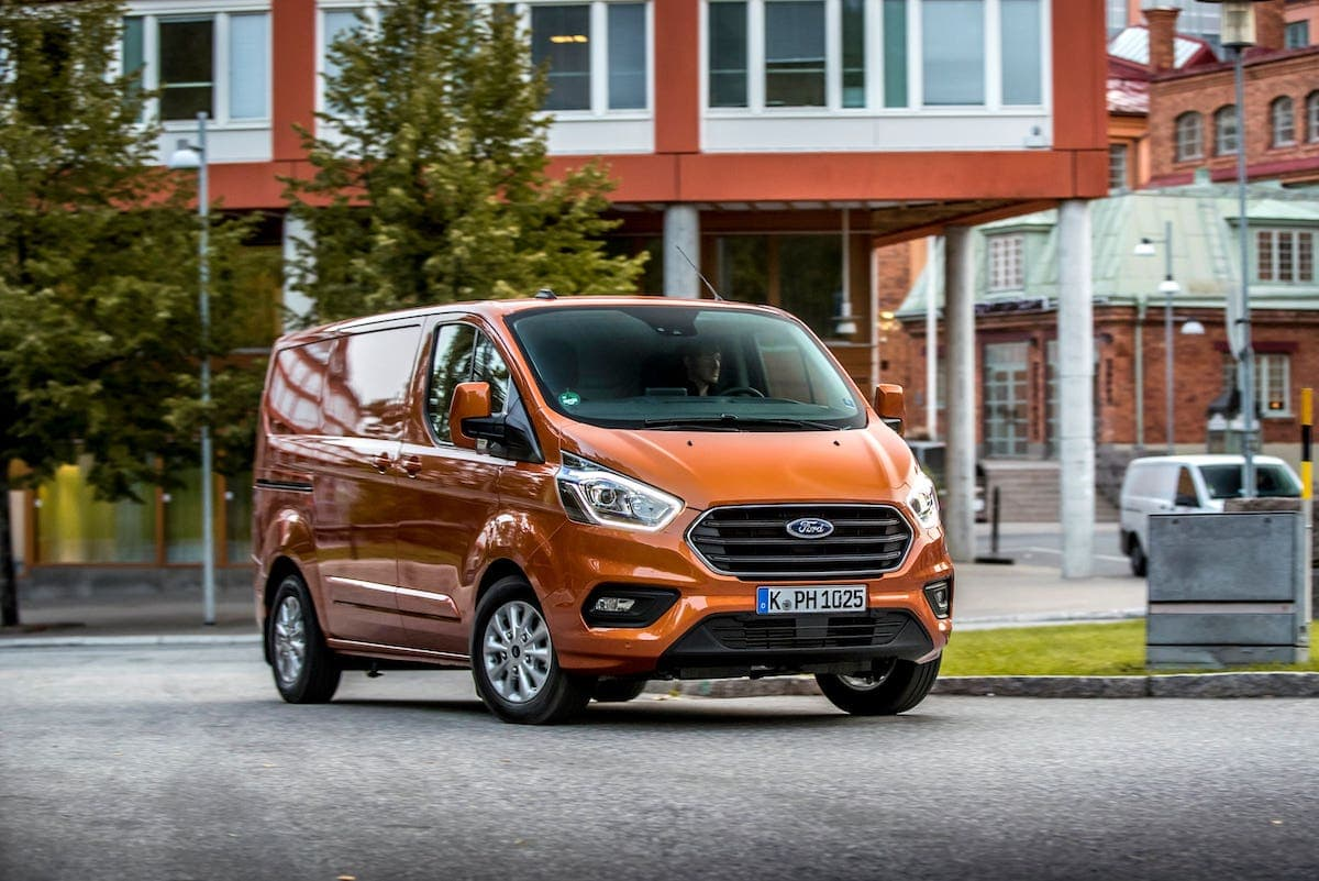Ford Transit Custom PHEV road test - front