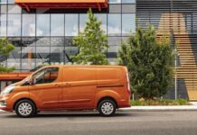 Ford Transit Custom, October 2020