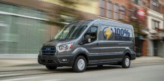 2021 Ford E-Transit
