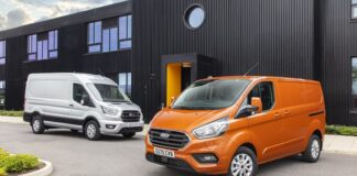 Ford Transit Custom and Ford Transit