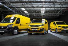 2021 Vauxhall electric LCV range