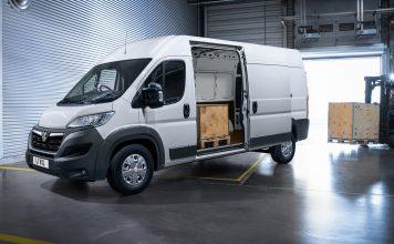 Vauxhall Movano loading
