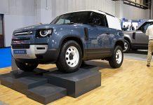 2108 Land Rover Defender 90 climbing CV Show