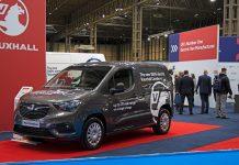 2108 Vauxhall Combo-e CV Show