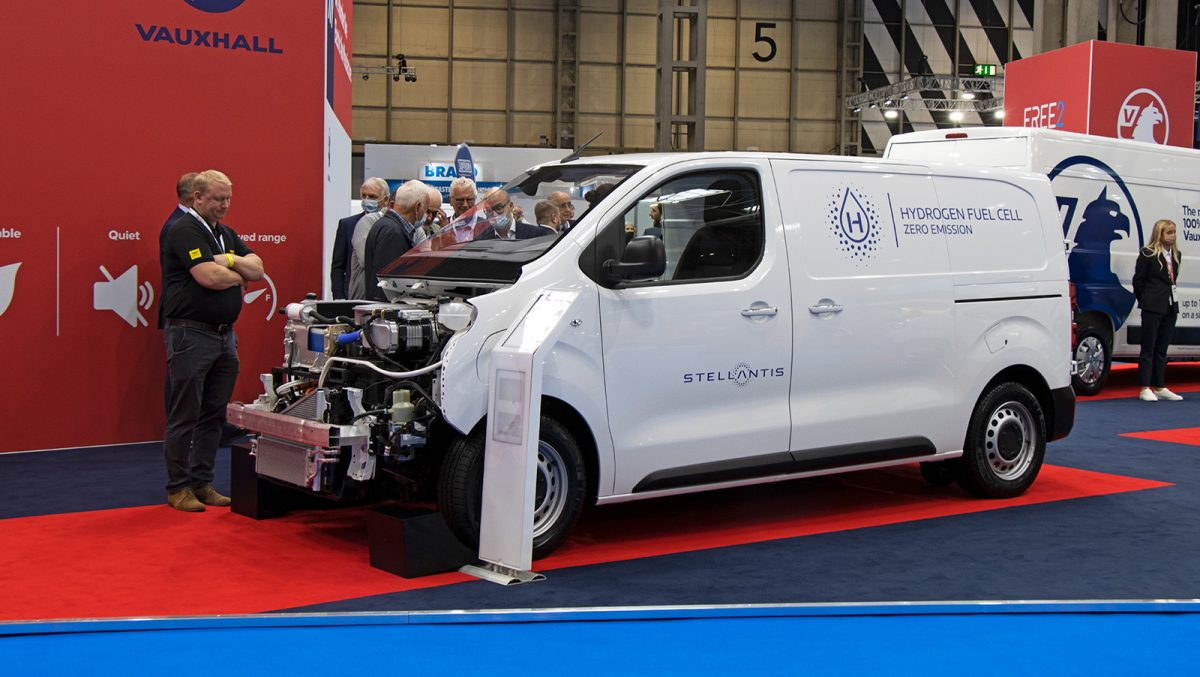 2108 Vauxhall Hydrogen concept CV Show