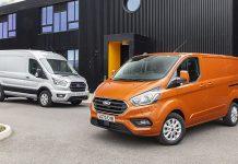 2109 Ford Transit van sales top